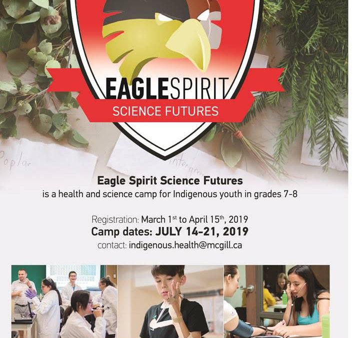 Eagle Spirit Science Futures 2019 Applications | Deadline Apr 15